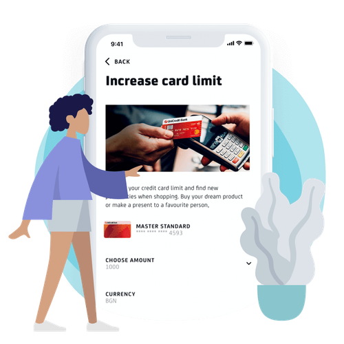 Increase a credit card limit