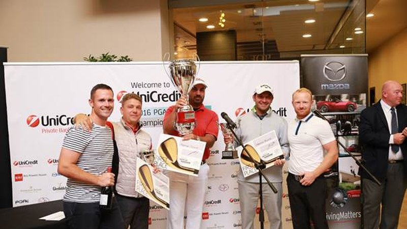 UniCredit Pro-Am, the tournament preceding the 2016 UniCredit European Golf Championship for club professionals, ended last weekend with a victory for Nikolay Andreev's team, Hranislav Kodzhahristov's team and Radoslav Rashev's team