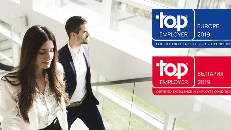 UniCredit has been recognised as a Top Employer in Europe in 2019