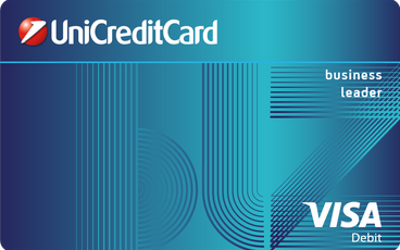 Debit card VISA Business Leader