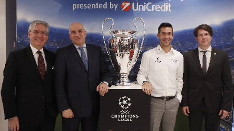 UniCredit Bulbank has welcomed the UEFA Champions League Trophy in Bulgaria