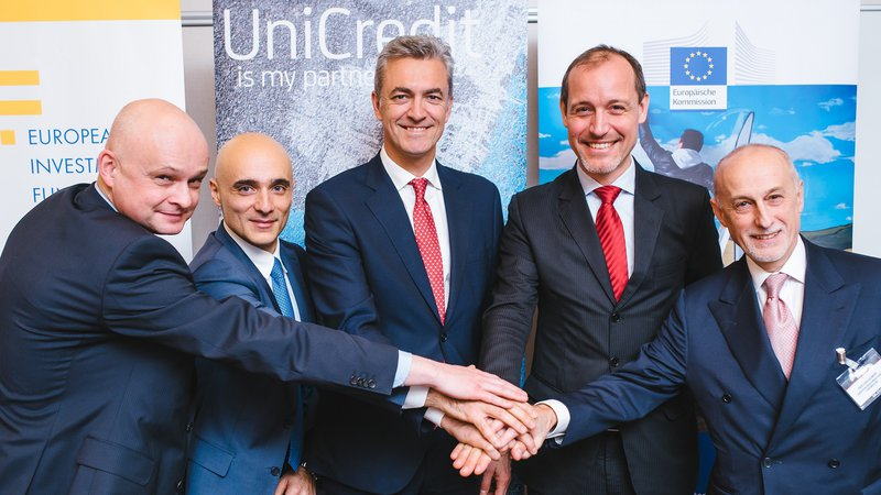 #InvestEU: EIF and UniCredit entered into an agreement for 160 million  for financing SMEs