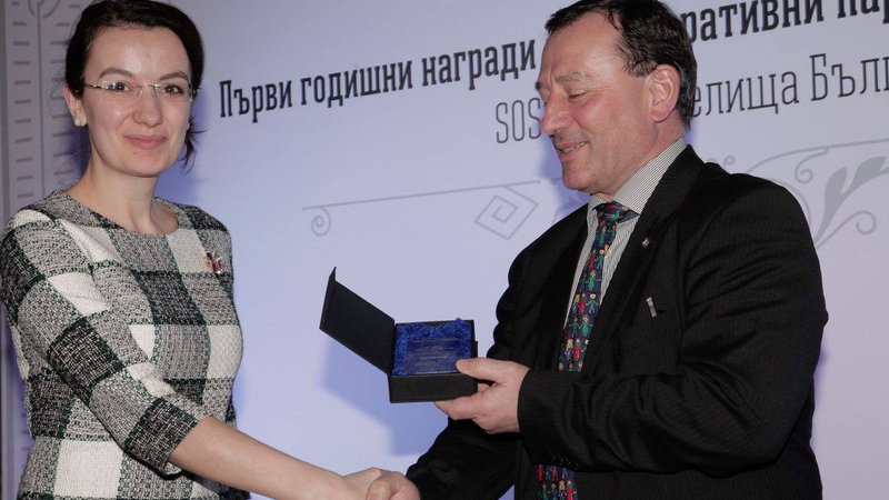 UniCredit Consumer Financing received an award from SOS Children's Villages