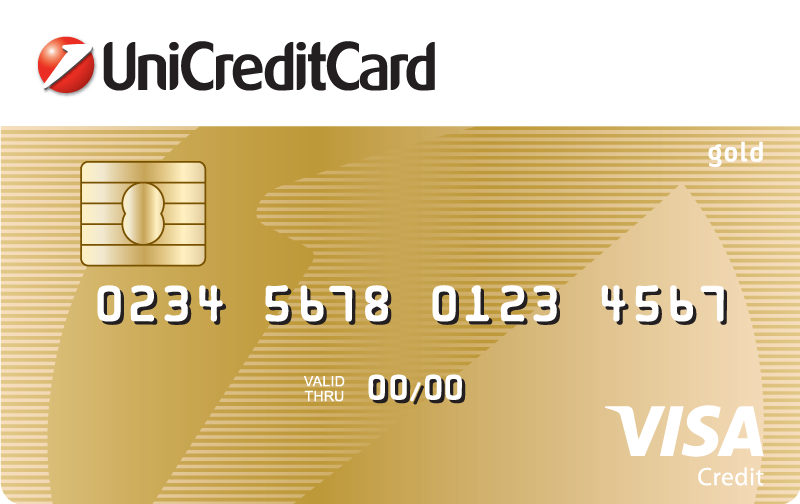Credit card VISA Gold