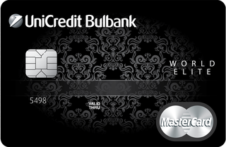 Debit Card MasterCard World Elite