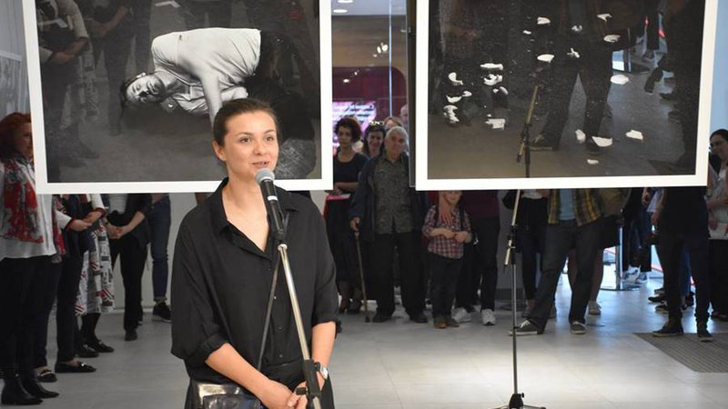 Yana Lozeva presented an exhibition as part of Fotofabrika Festival at UniCredit Studio