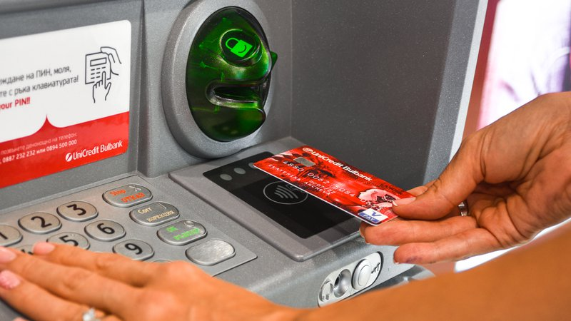 By the end of the year UniCredit Bulbank will have over a 100 ATMs for contactless cash withdrawal